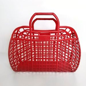 Vintage 80s Jelly Purse/Tote